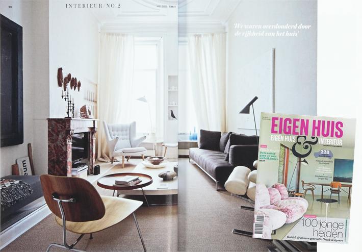 Eigenhuis interieur mei 2015 offringa wonen slapen in for Huis en interieur tijdschrift